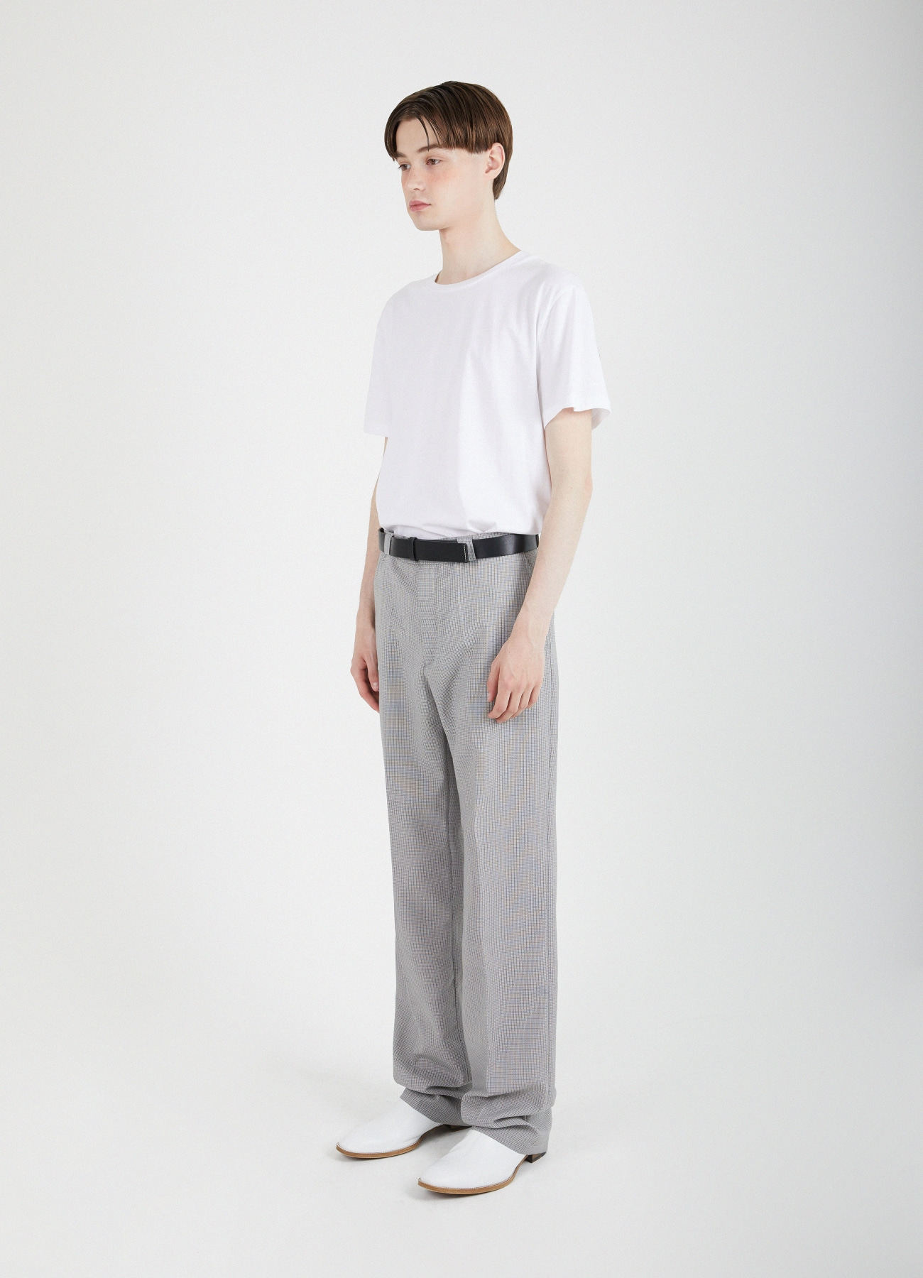 Onyx Relaxed Trousers - Beige Gray