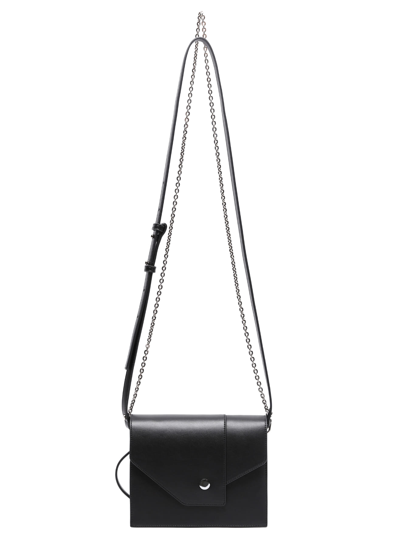 Collage Cross Chain Bag - Black